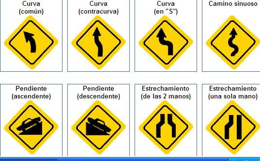 Prevención de riesgos viales: Señales de prevencion